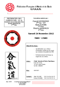 Stage GHAAN : 24 novembre 2012 - AIKIDO - YERRES (F-91330)