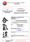 Stage GHAAN : 20 janvier 2013 - AIKIDO - ISSY-LES-MOULINEAUX (F-92130)