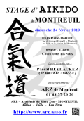 Stage ARZ : 24 février 2013 - AIKIDO - MONTREUIL (F-93100)