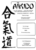 Stage ARZ : 18 - 19 & 20 mai 2013 - AIKIDO - PROVENCHERES-SUR-FAVE (F-88)